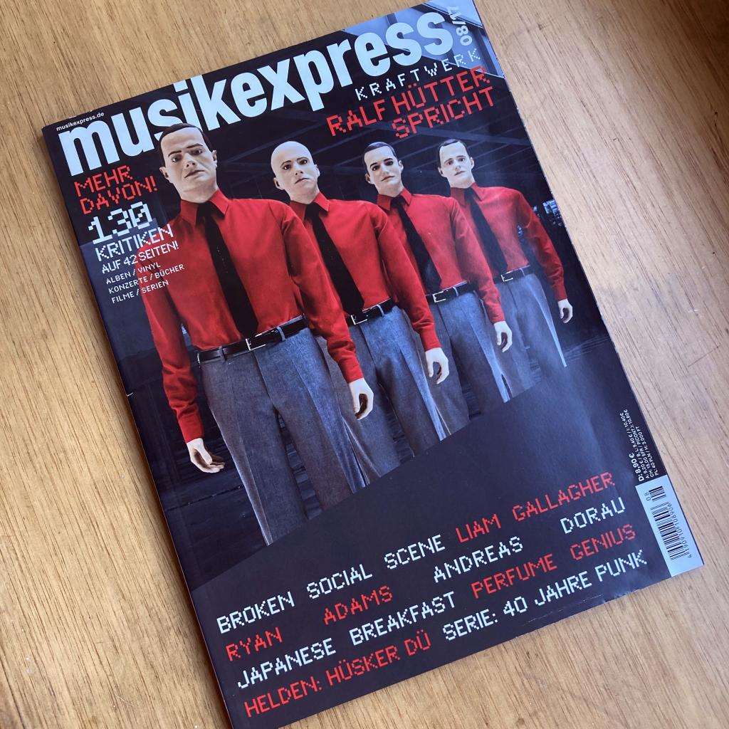 MusikExpress August 2017 magazine front cover