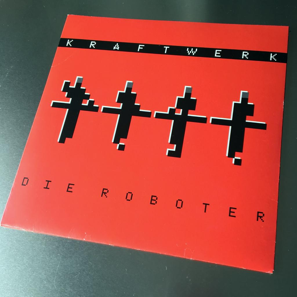 "Kraftwerk 'Die Roboter' MusikExpress magazine German 7"" single front cover"