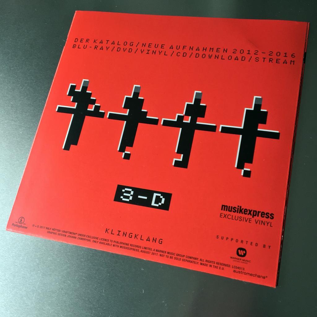 "Kraftwerk 'Die Roboter' MusikExpress magazine German 7"" single rear cover"