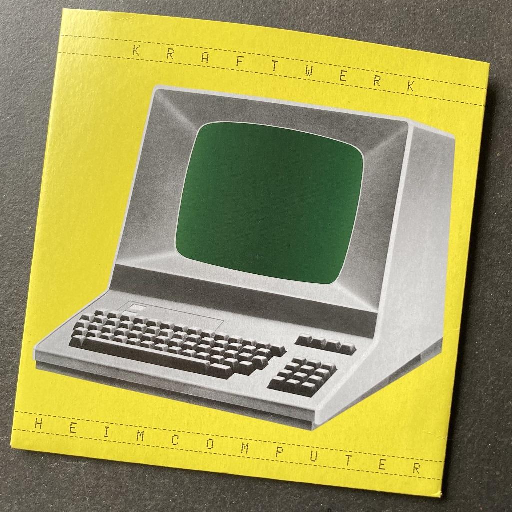 "Kraftwerk – 'Heimcomputer' MusikExpress magazine June 2021 issue German 7"" single"