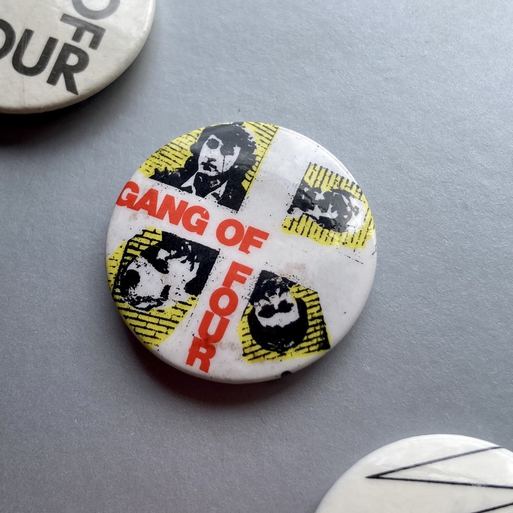 Gang of Four, four images badge