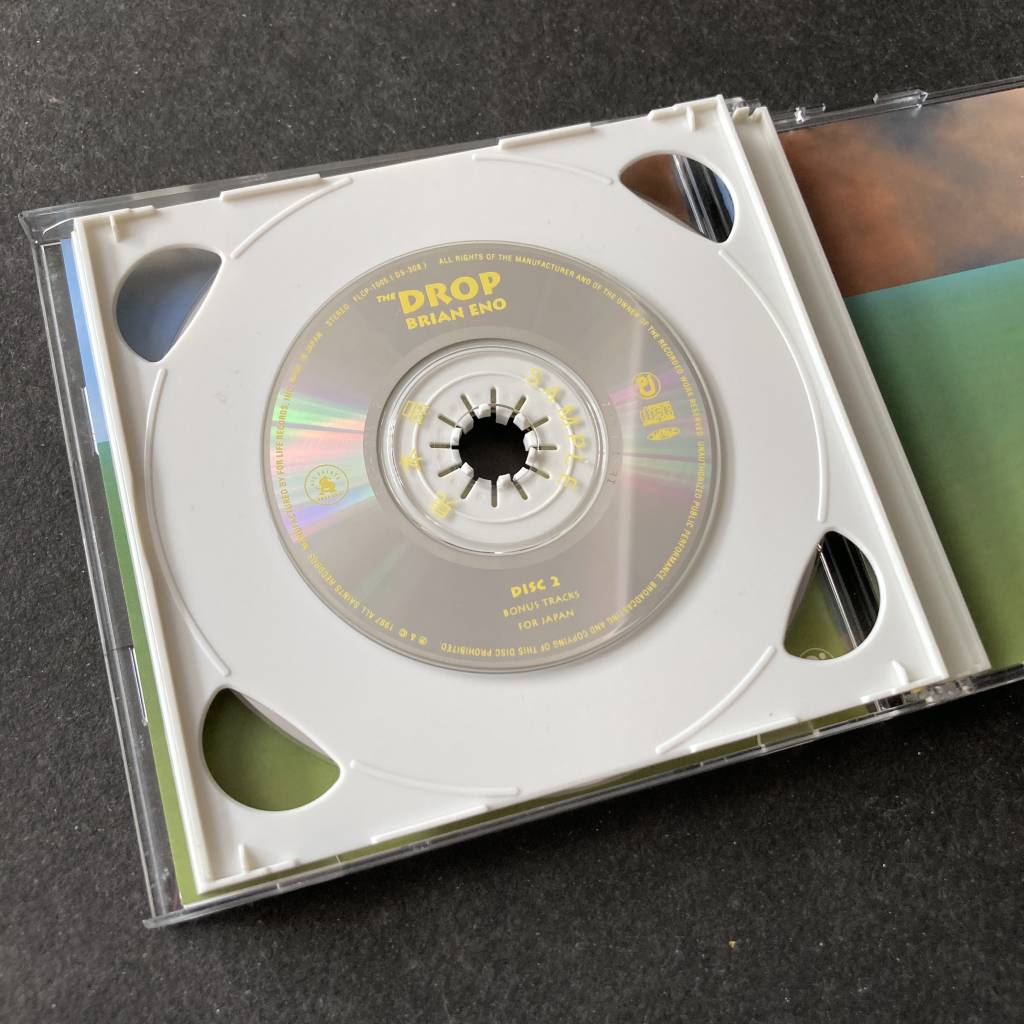 Brian Eno - 'The Drop' - 1997 Japanese 2 x CD edition - disc 2