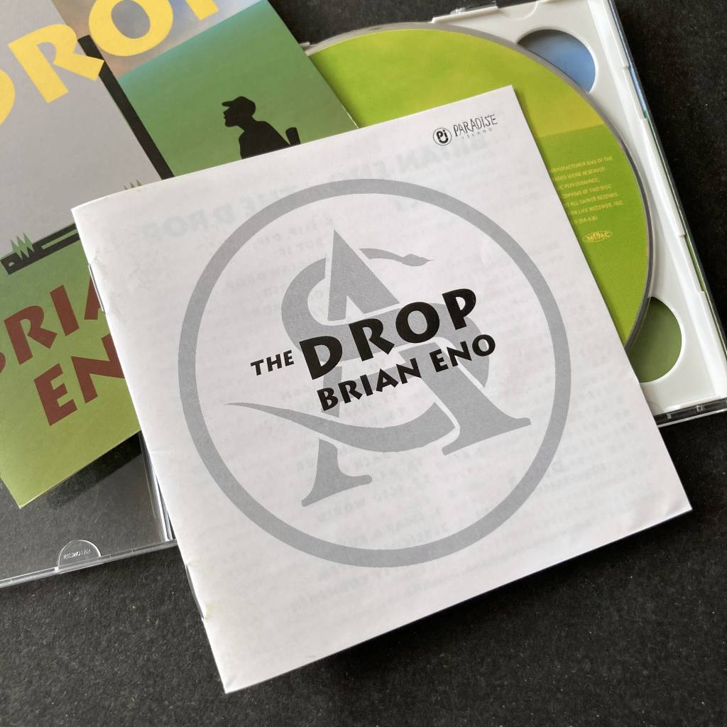 Brian Eno - 'The Drop' - 1997 Japanese 2 x CD edition - additional booklet front cover