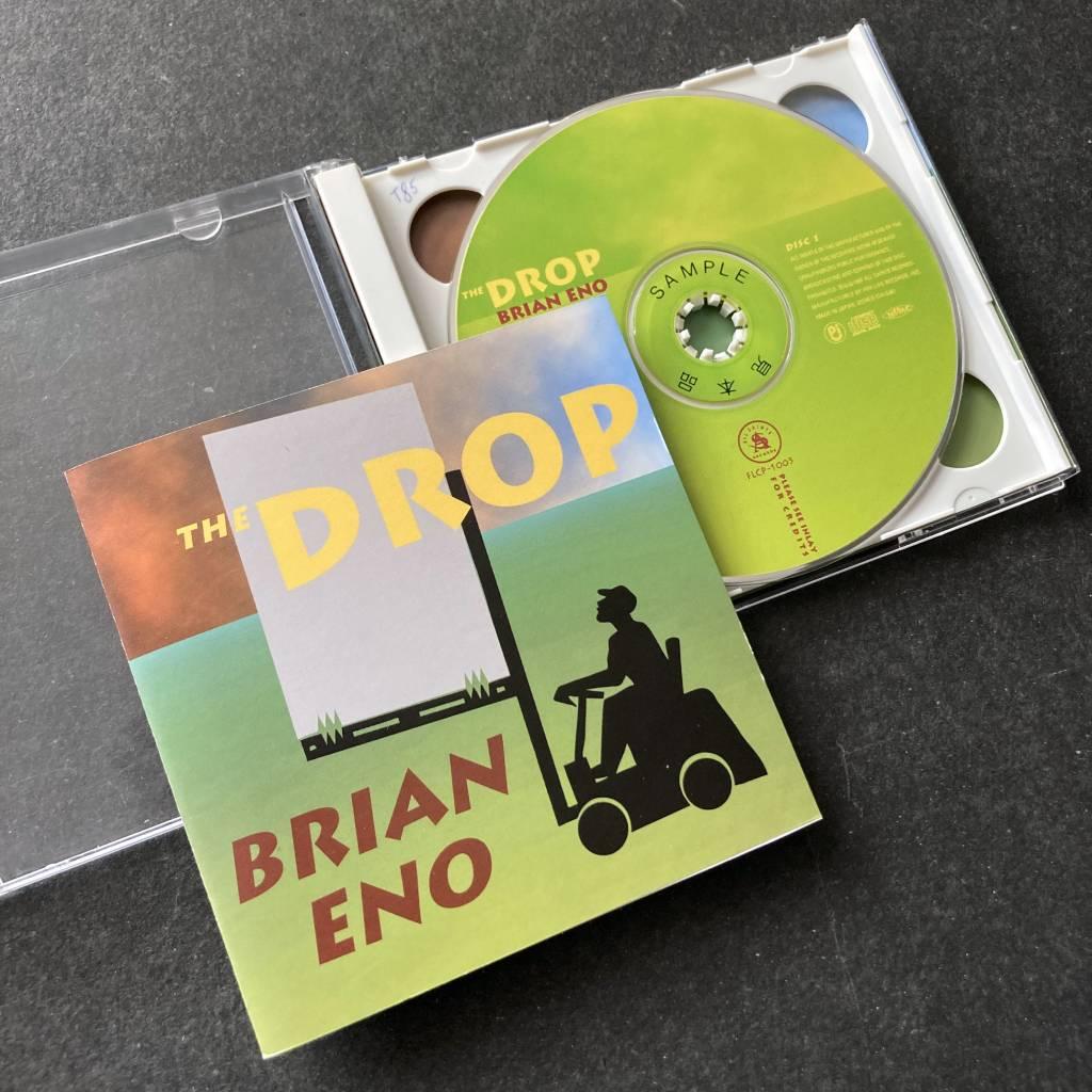 Brian Eno - 'The Drop' - 1997 Japanese 2 x CD edition