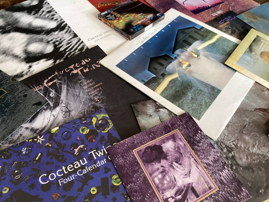 Cocteau Twins assemblage of releases