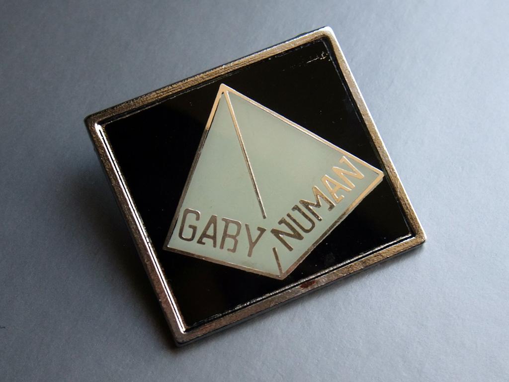 Gary Numan - 1979 fan club badge