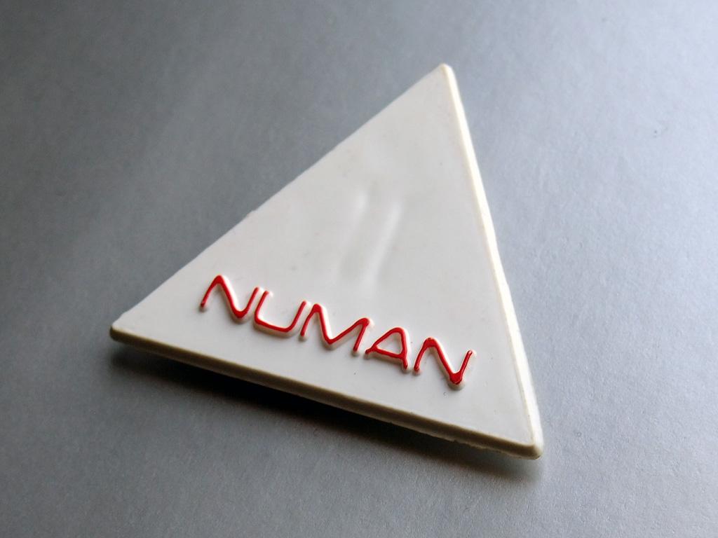 Gary Numan - 1980 fan club badge