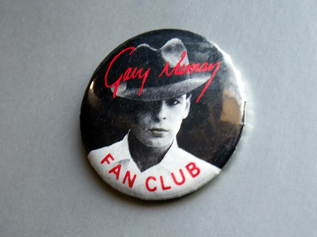 Gary Numan - 1982 fan club button badge