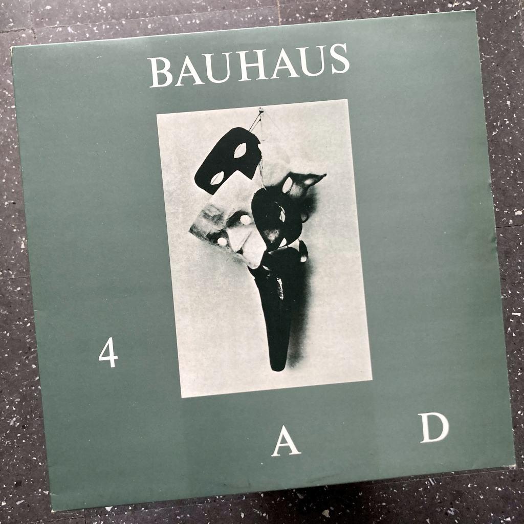 Bauhaus - '4AD' UK Mini-Album front cover design