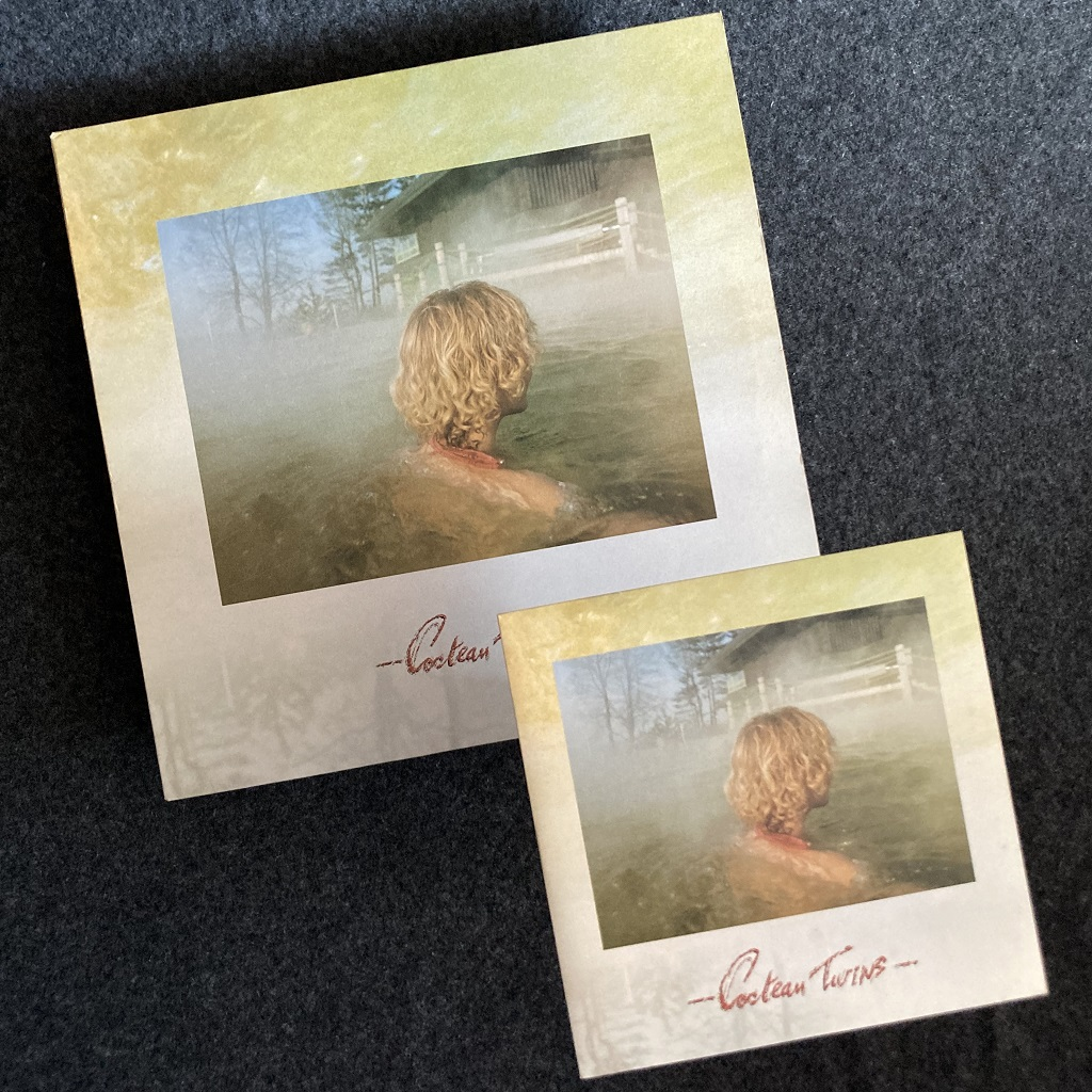 """Cocteau Twins 'Peppermint Pig' 7"""" and 12"""" side by side"""
