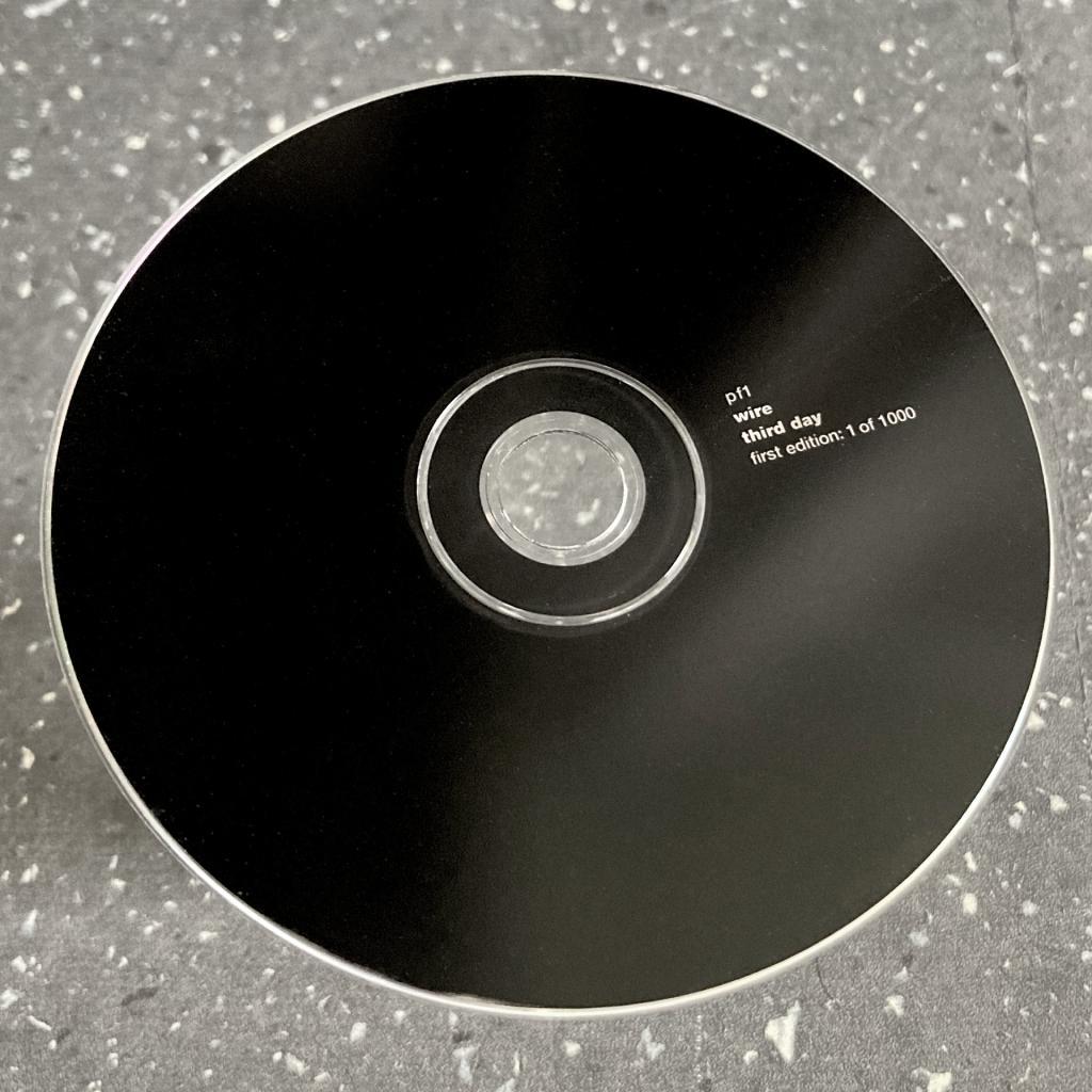 Wire - 'Third Day' CD EP label design