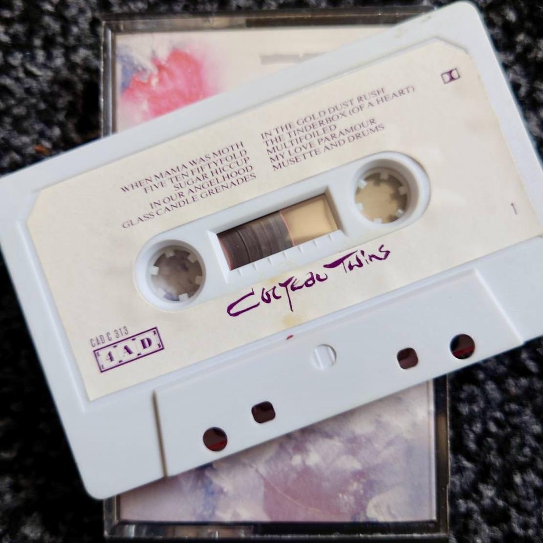 Cocteau Twins 'Head Over Heels' / 'Sunburst and Snowblind' 1983 UK cassette side one