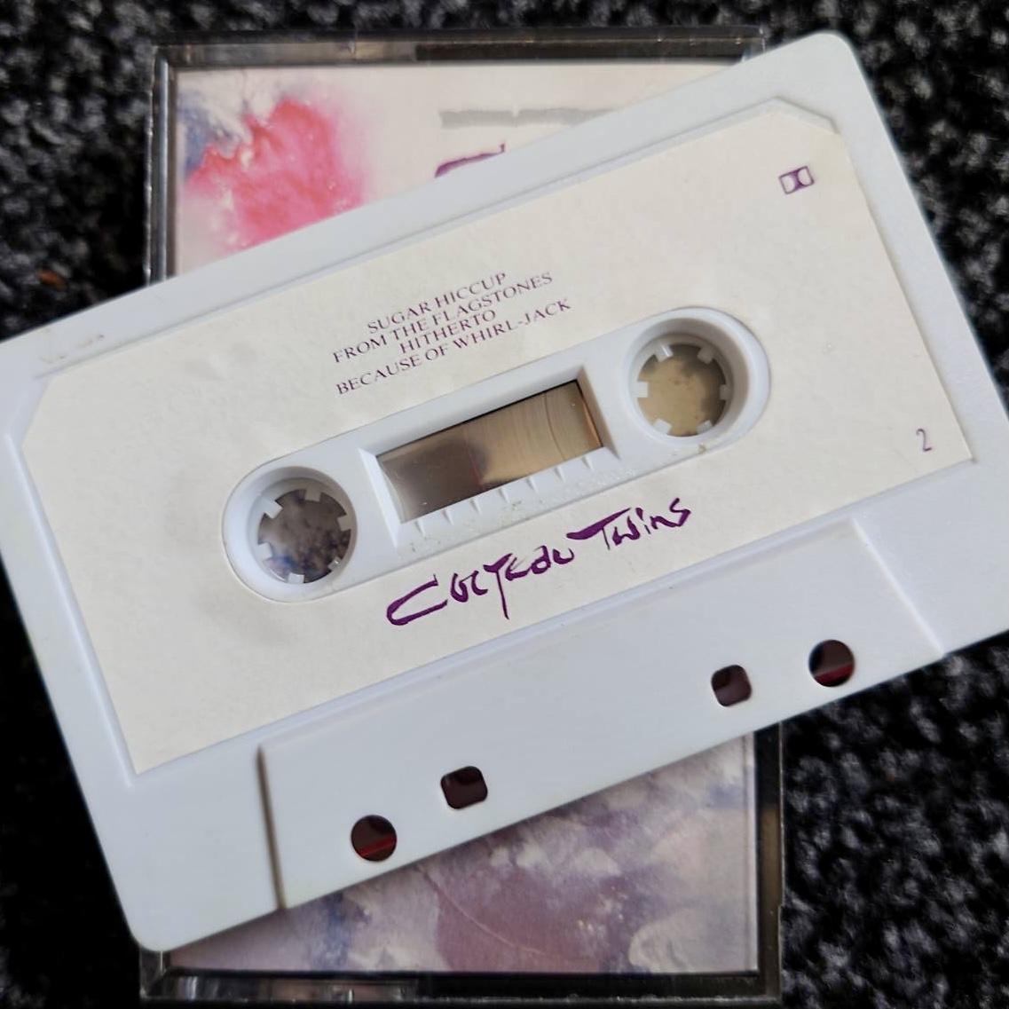 Cocteau Twins 'Head Over Heels' / 'Sunburst and Snowblind' 1983 UK cassette side two