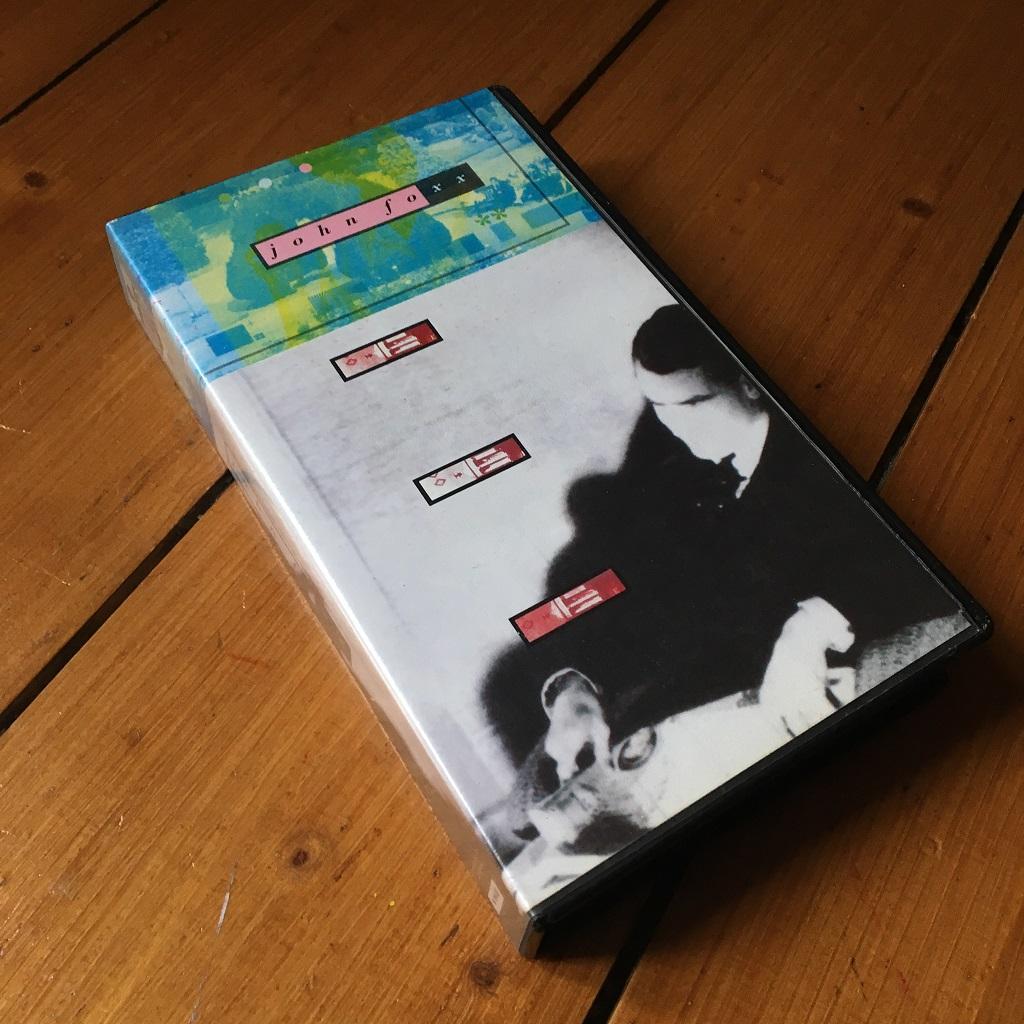 John Foxx 1989 UK VHS video EP